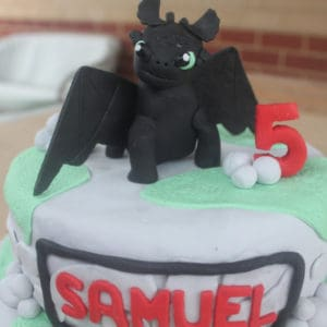 How to train your dragon toothless cake sweetly baked perth kids party